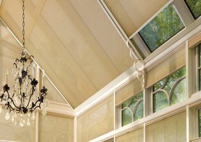 SKYLIGHT SHADES MOTORIZED AND MANUAL LIFT SYSTEM