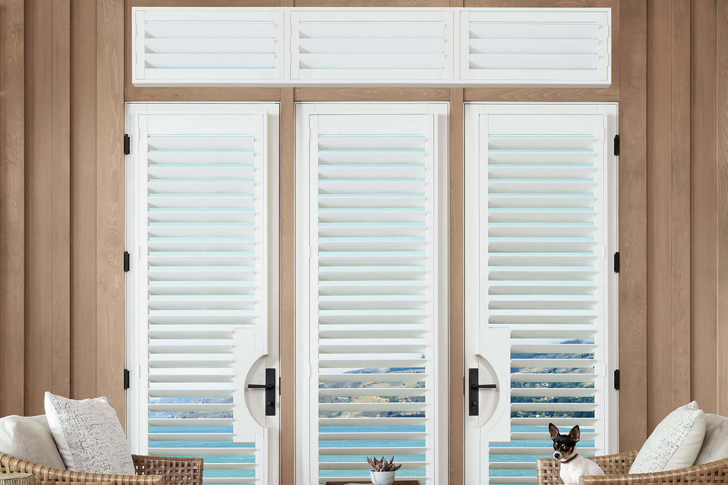 Hunter Douglas Palm Beach Polysatin Shutters Showcase