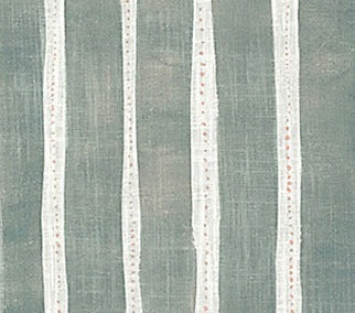 REBECCA ATWOOD: DOTTED STRIPE Forest Peach