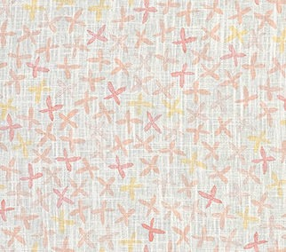 REBECCA ATWOOD: FLORAL STAMP Pink/Yellow