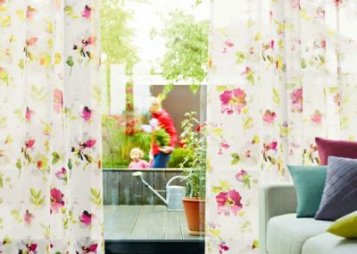 Floral drapery 3